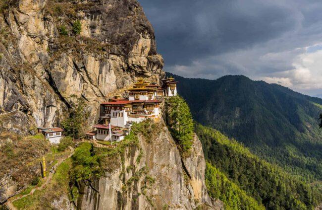 Paro Taktsang (Tiger's Nest) Temple near Paro
