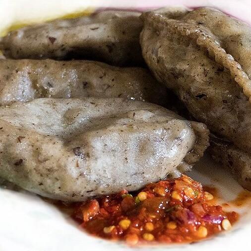 Hoentay, a popular Bhutanese dumpling